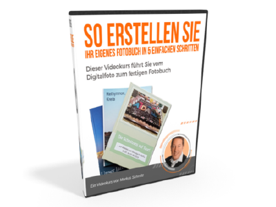 Fotobuch erstellen DVD-Mockup